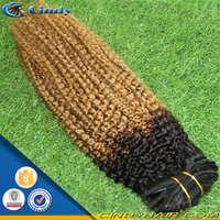 wholesale high quality brazilian remy clip hair extensions double weft jerry curl dubai