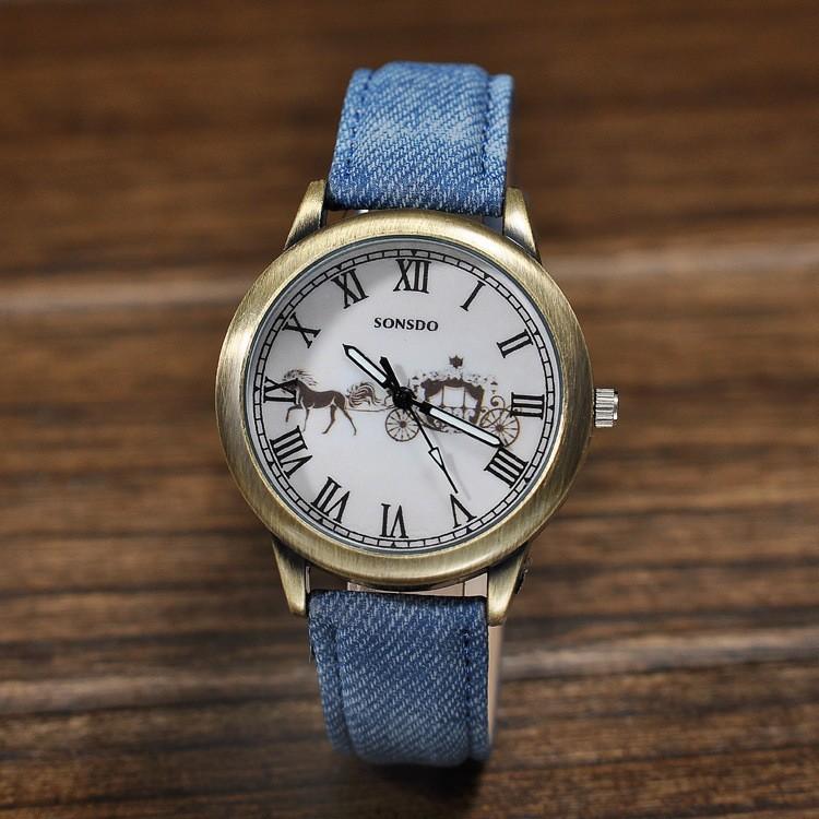 ขายบ้าในยุโรปและตลาดสหรัฐอเมริกาคาวบอยนาฬิกา, brozeนาฬิกาแฟชั่นสำหรับผู้ชายและผู้หญิง