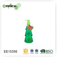fancy christmas tree shape bottle liquid hand soap
