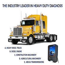 MAN, VOLVO, RENAULT, UD, HINO, DAF, Restablecer Luz Mantenimiento, Cilindrofotografica, FCAR F3-D aparato de escaneo de camión