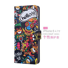 Best selling products Printable sublimation leather flip mobile phone case pu leather case for iphone 6 cover china wholesale