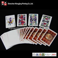Cartoon Advertising Playing Cards,New Customized Paper Playing Cards