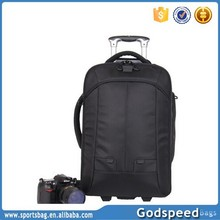 2015 professinal durable waterproof trolley camera backpack