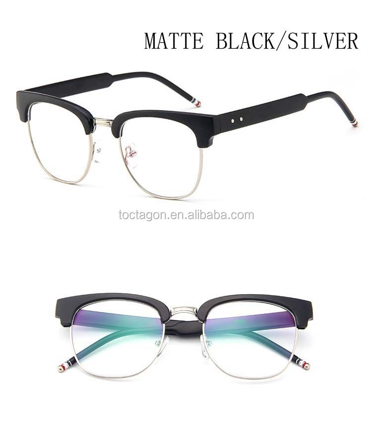 2017 New Style Optical Frames,Plastic &metal Material Eyewear ...