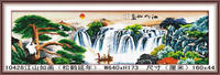 Chinese hot sell famous landscape dimond painting for home decoration