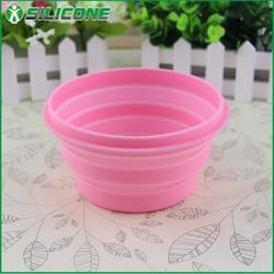 Fashionable 100% food grade unique design pet bowl dog bowl collapsible pet bowl