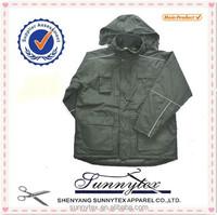 Sunnytex winter parka padded long sleeve inner qulited winter man jacket