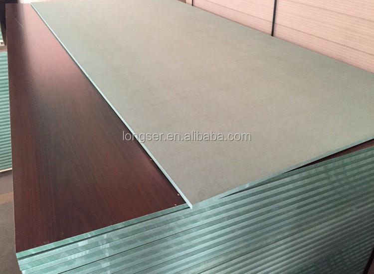Melamine hmr green waterproof mdf board buy