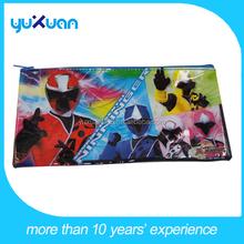 customized UV printing pvc pen bag with zipper