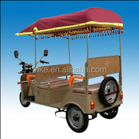 GY650DZK Indian electric tricycle onroad battery operated auto passenger rickshaw