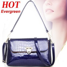 Hot selling product crocodile PU leather handbag fashion women working bag factory price from guangzhou SY6333