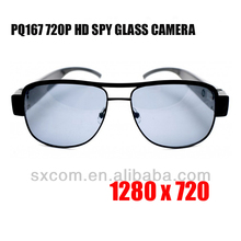 1280x720 waterproof Video Recorder 350mAh 5MP glasses hidden camera Support TF card real-time record and taking photo