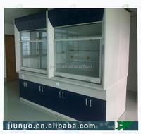 Hot sale PP testing laboratory exhaust hood workstation dimension 1200 * 850 * 2350