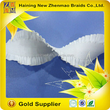 hot sell top quality knitted elastic band with lace trimmings