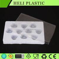 disposable plastic chocolate/candy packaging boxes/tray