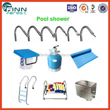 China factory manufacture concrete and liner spa swimming pool equipment