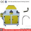 Curved Pipe bent tube oval tube linisher sanding machine