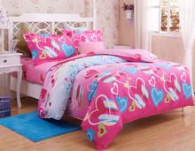 luxury brand raw silk duvet bedding set
