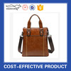 Business pu Leather tote bag messenger bag men from China Factory
