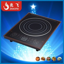 single burner electric induction cooker with pure copper coil