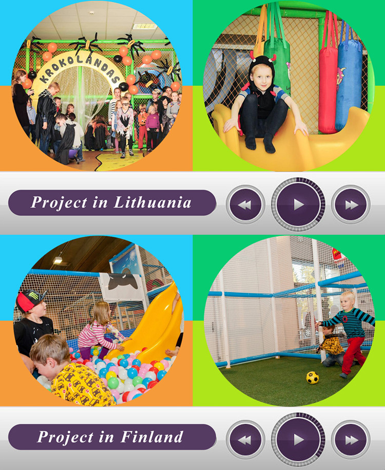 Liben Indoor Playground Project