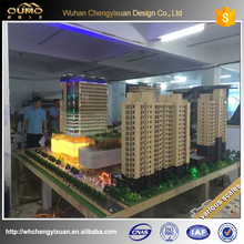 hot selling china supplier 3d rendering architectural Building model for real estate