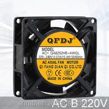 8025 220v ac industrial fan motor