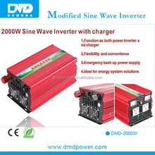 2015 Lowest price ups dc to ac solar inverter with ac charger 2000w