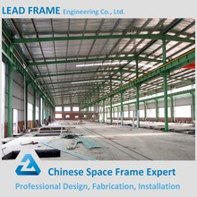Professional Prefab Galvanized Steel Light Frame For Large Space Warehouse