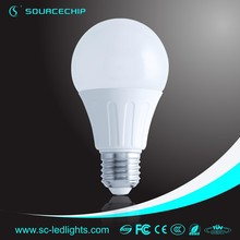 Exclusively design 7w smd e27 led bulb,light bulb lamp housing e27