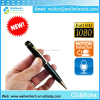 Wholesale New product full hd 1080p full hd pen camera wifi wireless pen camera with receiver usb pen camera