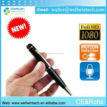 Wholesale New product full hd 1080p full hd pen camera wifi wireless pen camera with receiver usb pen camera