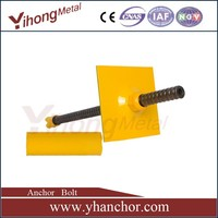 YH high grade steel groud anchor bolts for tunneling