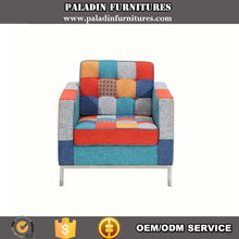 Florence K's Style Fancy Fabric Patchwork Single Seater Big Sofa Chair