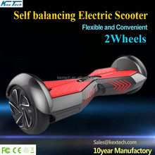 2015 New Mini 2 wheeled Self Balancing Electric 2 wheel hands free smart drifting scooter