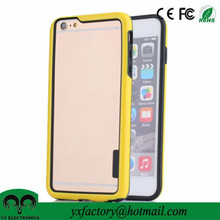 best selling factory dual layer PC TPU bumper case for iphone 6 wholesale