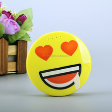 Lovely facial expression power bank mobile phone charger