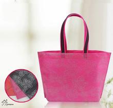 promotional nonwoven shopping bags/non woven foldable shopping bag