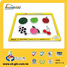Kids fruits collecting series design funny custom fridge magnets
