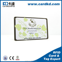 Factory Price Good Quality Customized rfid business card embossing, rfid business card printing