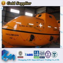 Marine Lifesaving Equipment ABS Aprroved FRP Lifeboat On Market