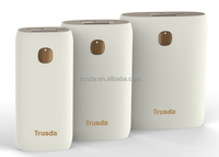Trusda patent design new products famous brand QC 2.0 mobile battery charger 10400mAh high capacity with rubber surface