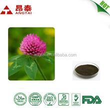 100% Natural Red Clover Extract 8%-60% Isoflavones,Trifolium Pratense