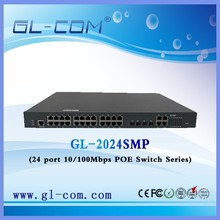 24 ports switch Huawei web management Fast Ethernet Switch POE switch for IP camera CCTV Monitor