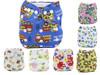 Ohbabyka Printed new baby cloth diaper reusable thx diaper