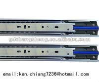 ANSI/BIFMA 45mm 3-fold #3045-HC01 full extension ball bearing soft close draw slider