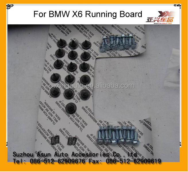 For BMW X6 side step 4x4 auto part