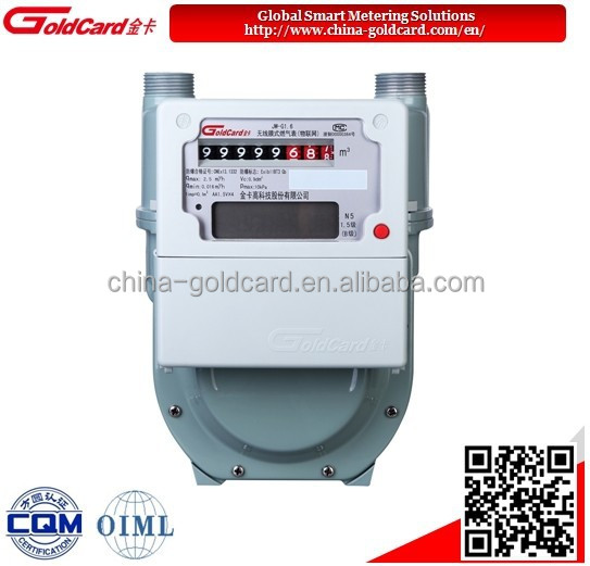 Remote Natural Gas Meter