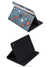 """Silver HT Exclusive Design 8"""" Printed Universal Tablet Cover Case"""