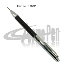 0.7mm Mechanical Pencil Brass and PU leather 30 gram Metal Heavy Pencil with Eraser Rotating action Business Pencil